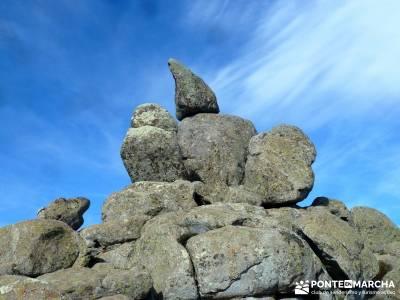 Las Machotas - Senderismo entresemana - Pico de El Fraile y los Tres Ermitaños; rutas a pie madrid